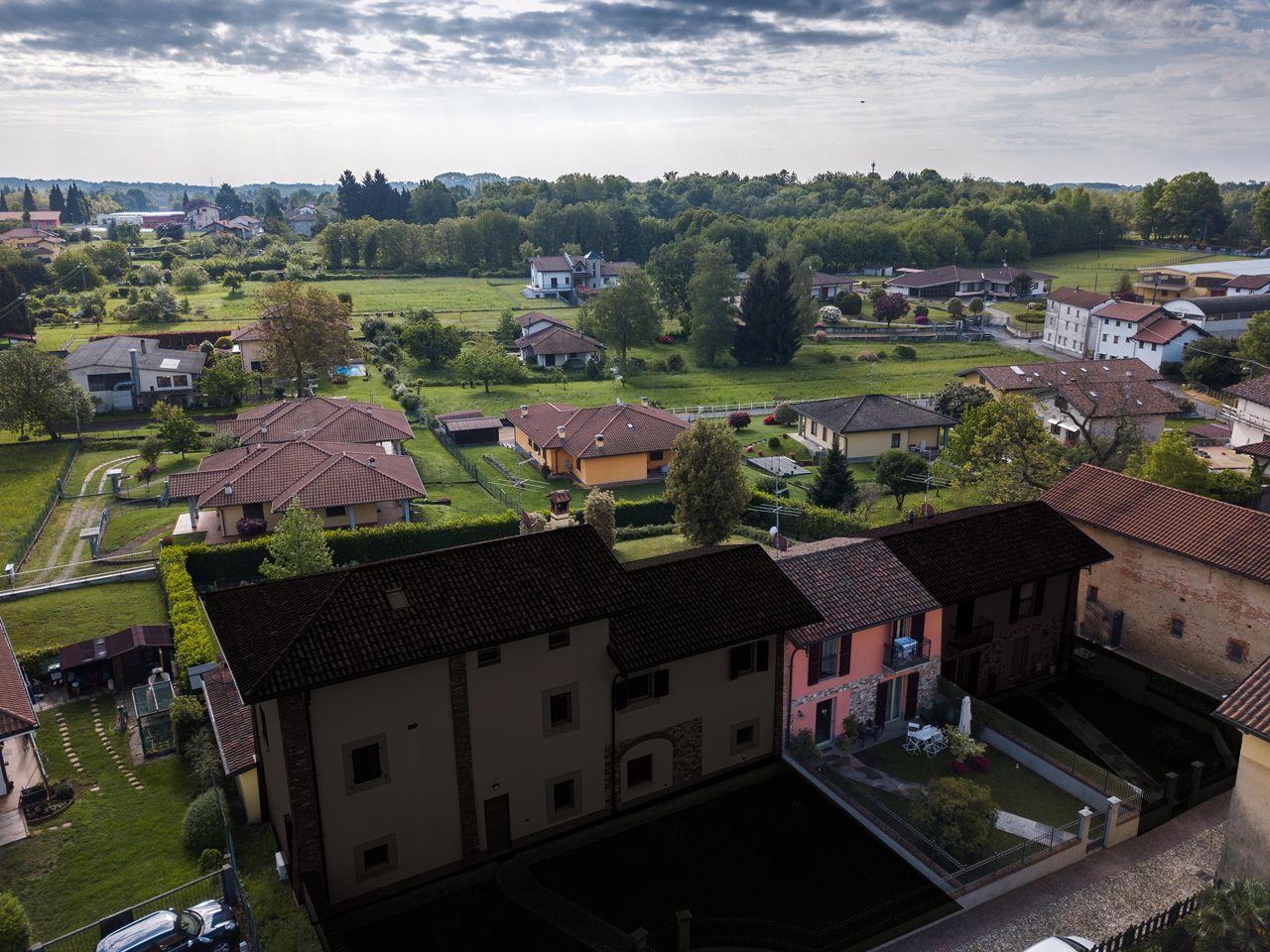 vista aerea - villetta - giardino