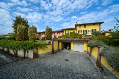 facciata esterna - villa - giardino