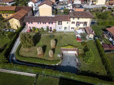 vista aerea - villa - giardino