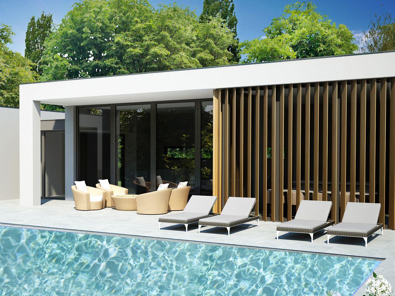 Giardini Moderni Con Piscina : Arizzano villa moderna vista lago nuova con piscina