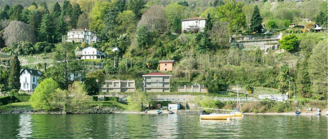 Baveno Appartamento Vista Lago Con Garage E Terrazzo Aa3251