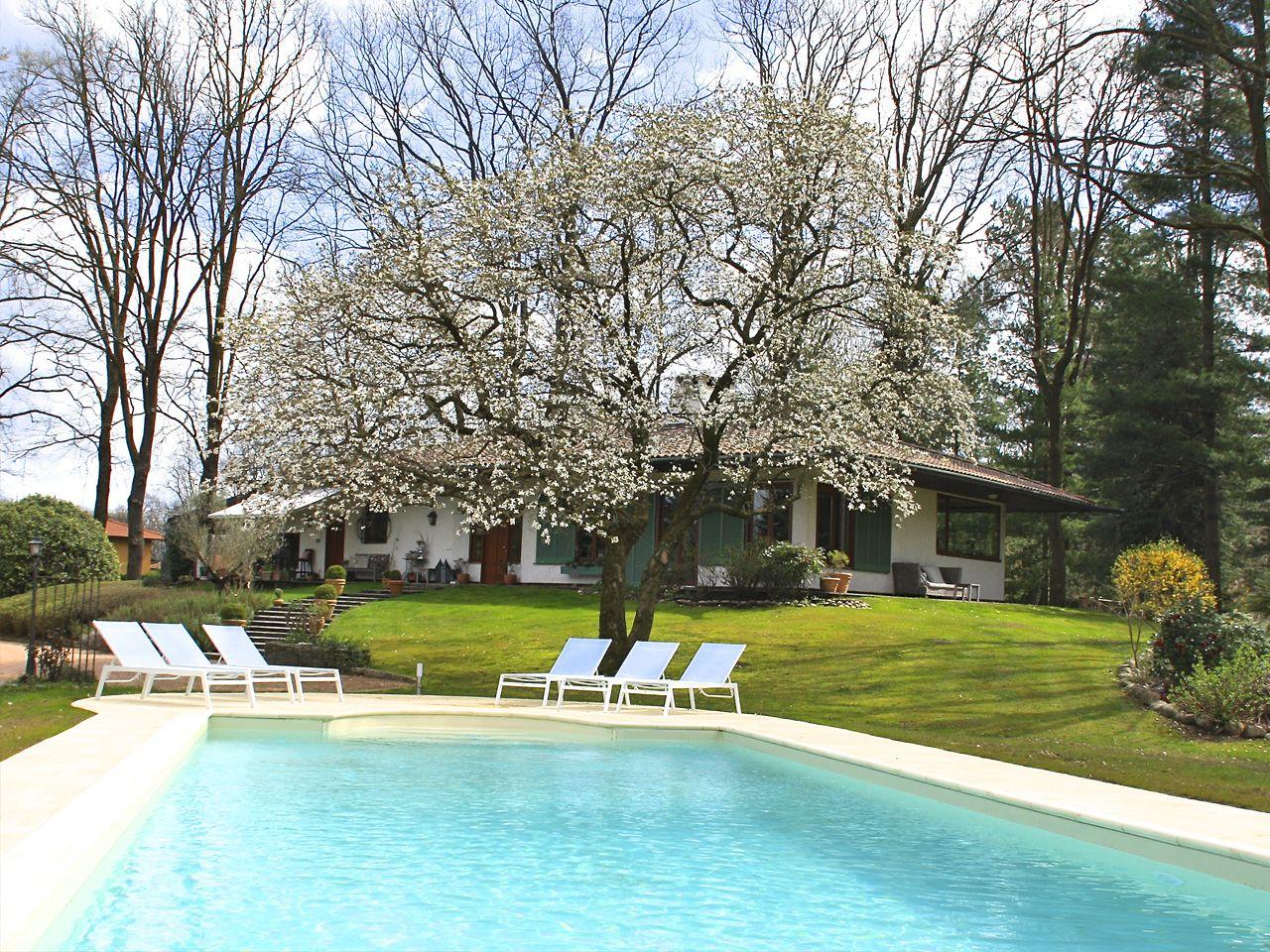 Villa Ispra con piscina