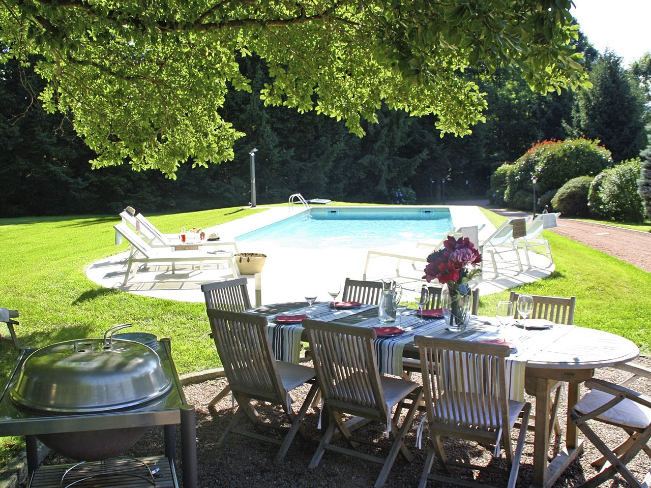 Villa Ispra con  giardino