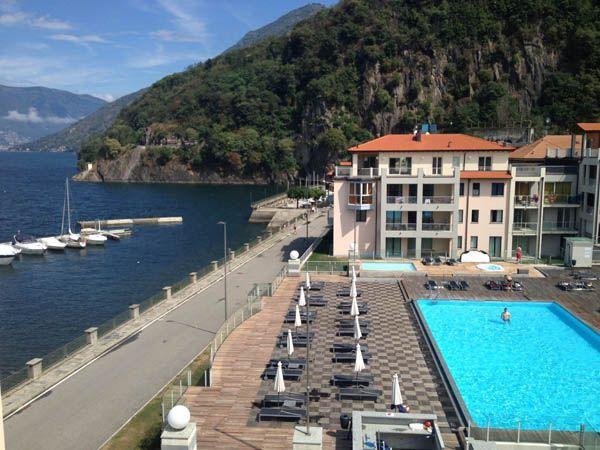 Maccagno appartamento vista lago con piscina aa1449
