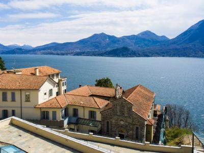 vista lago appartamento Ghiffa