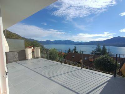 terrazzo vista lago