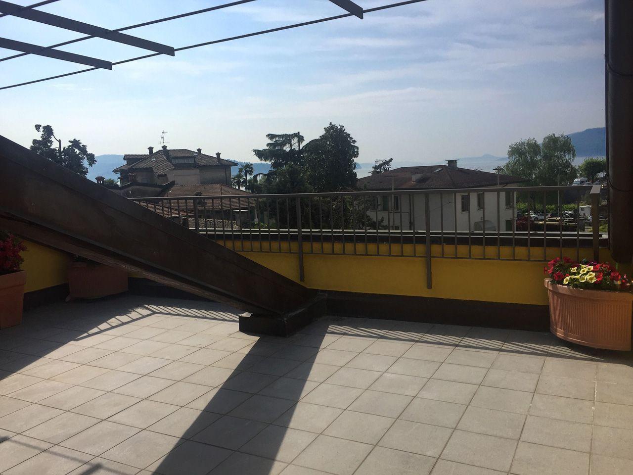 Three-room apartment in Verbania -terrace