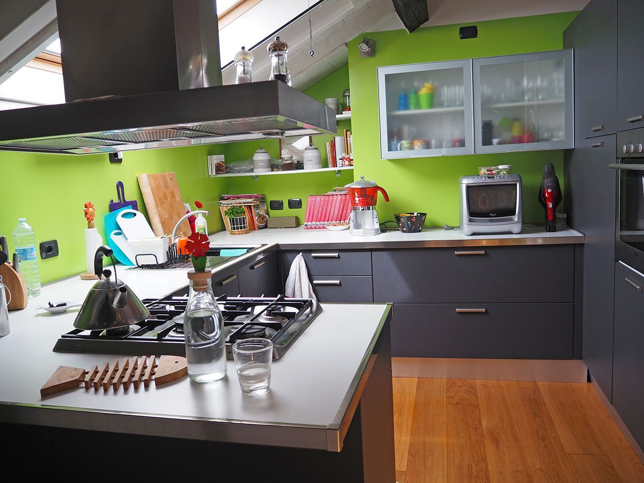 Three-room apartment in Verbania - kitchen
