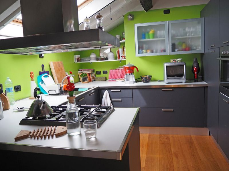 Three-room apartment in Verbania - kitchen