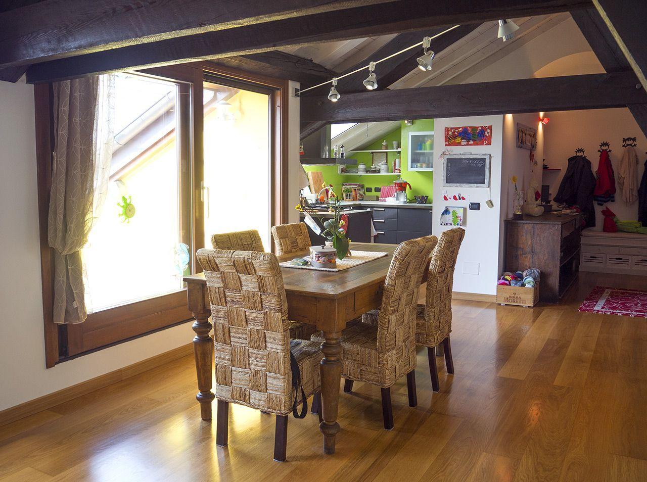 Three-room apartment in Verbania - living room