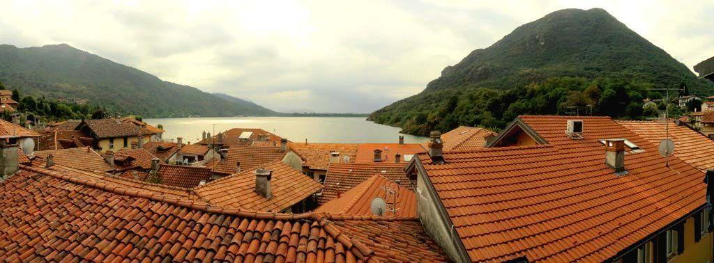 Lago di mergozzo villa vista lago 400mq con garage for Tre piani di garage per auto con soppalco