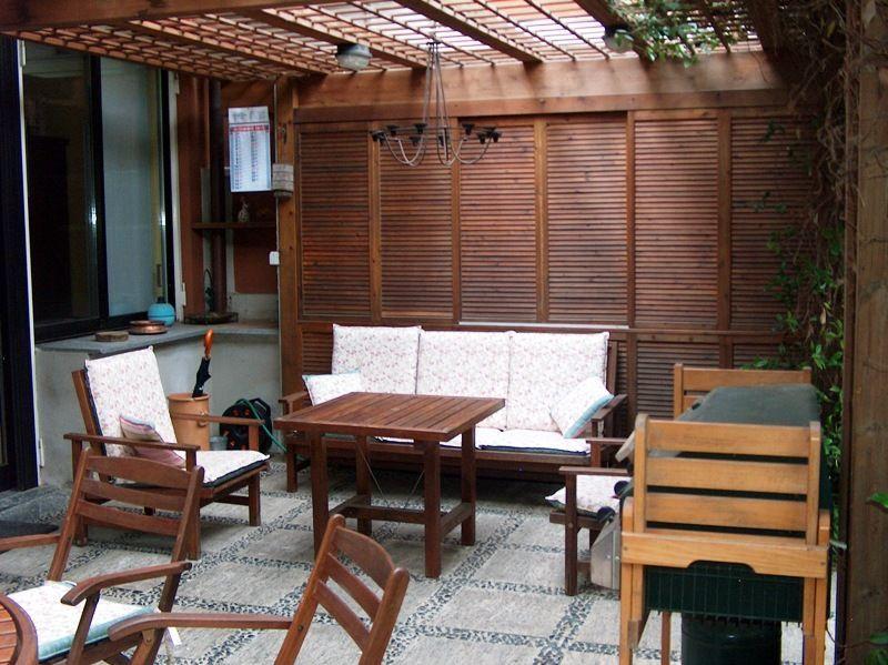 Meina appartamento con garage e giardino aa2288 for Garage con appartamento in cima