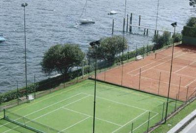Apartment in Oggebbio in complex Pascia' - tennis court