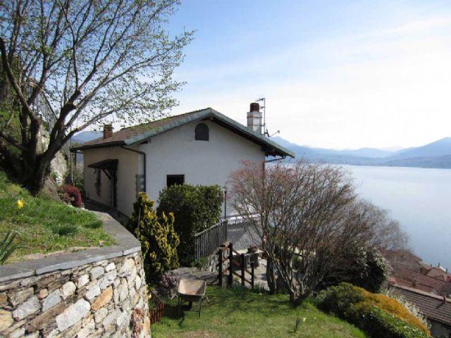 oggebbio casa vista lago 3 camere con giardino e terrazzo