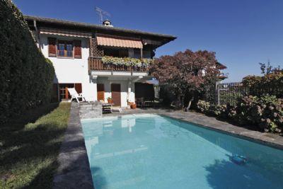 foto vista casa Oggebbio