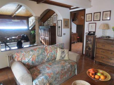 soggiorno appartamento in villa d'epoca Verbania Pallanza
