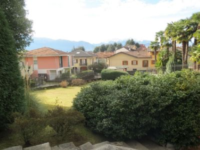 panorama appartamento in villa d'epoca Verbania Pallanza