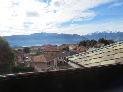 veduta appartamento in villa d'epoca Verbania Pallanza