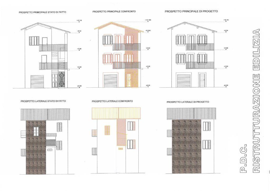 Progetto casa singola 2 piani costo progetto casa with for Piani di casa per grandi lotti