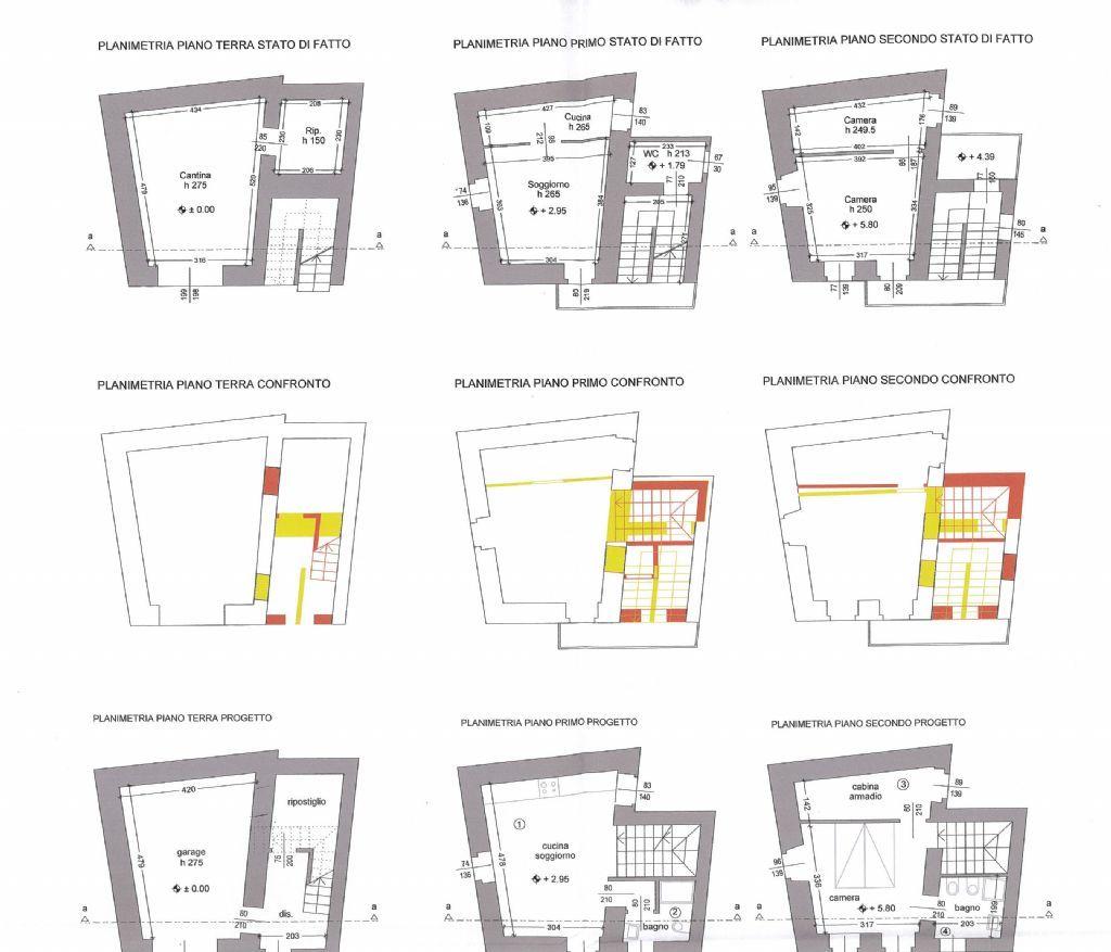 San bernardino verbano casa 1 camere con giardino e garage for Piani di casa con garage indipendente e guest house