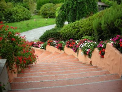 scalinata ingresso Gignese
