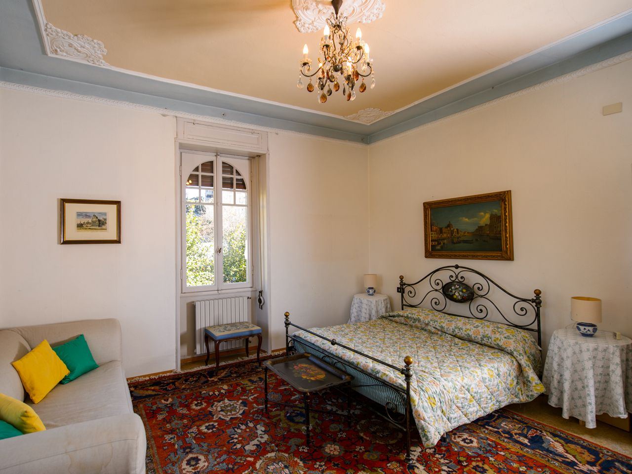 Verbania - Villa - Epoca - Camera matrimoniale