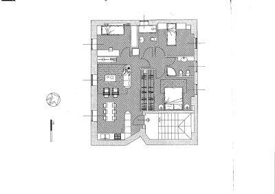 appartamento piano primo intra